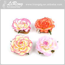 Fashion hair clip hair band Fabric Flowers For Women