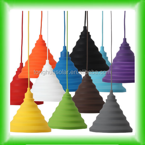 Vintage Edison bulb silicone pendant lamp/silicone lamp cover/silicone suspended lighitng