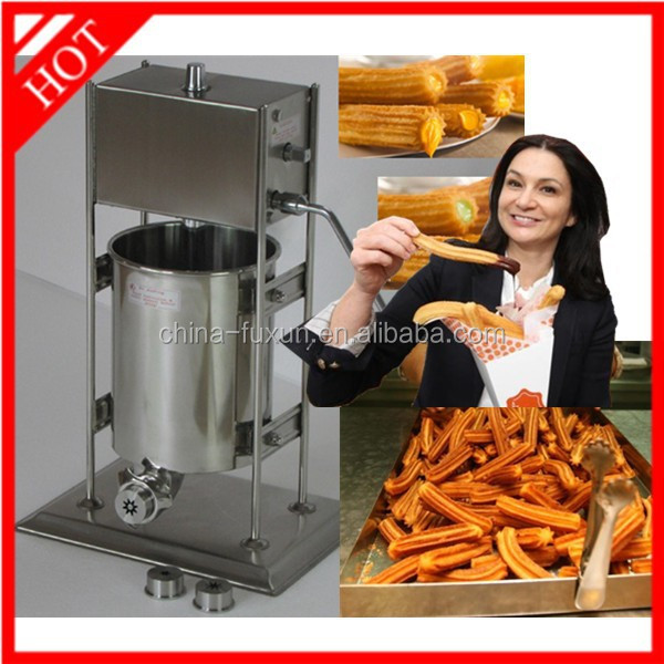 stainless steel churro machine and fryer