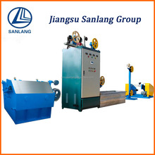 Intermediate copper wire drawing machine and DC annealing control