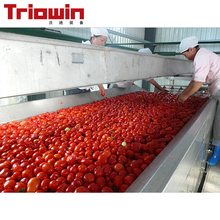 Tomato plant sauce processing machine complete line