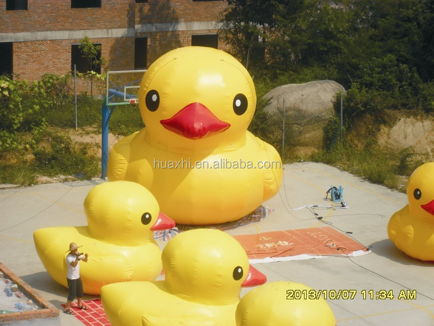 Inflatable Giant Rubber Duck Animal for Advertising