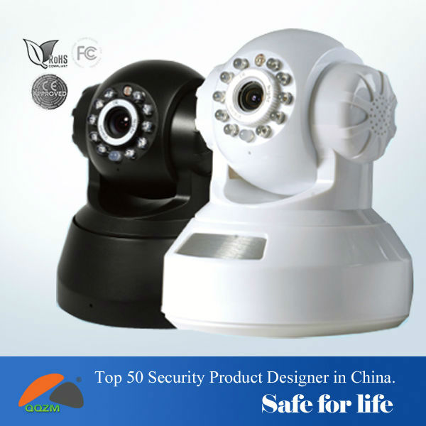 New web page view ip camera p2p high definition support 32GB TF card IR CUT recording online free ddns and app easy view