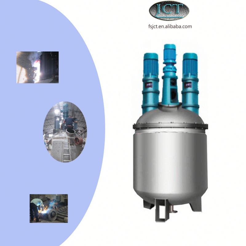 JCT eyelash cyanoacrylate adhesive making reactor