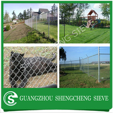 Hot dipped galvanised woven fence indoor chain link dog kennel