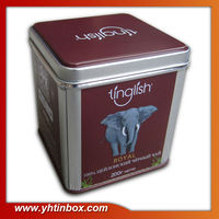 ceylon green tea tin box