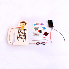 Diy Kids Electromagnetic Induction Science Kit Educational Electronics Toy