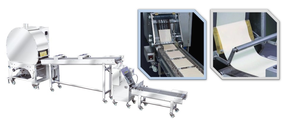 Anko Scale Mixing Making Freezing Commercial Samosa Pastry Sheet Machine