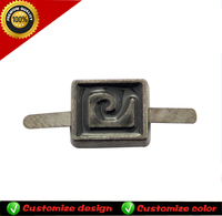Wholesale zinc alloy pin buckle decoration for faemale/male boot shoe
