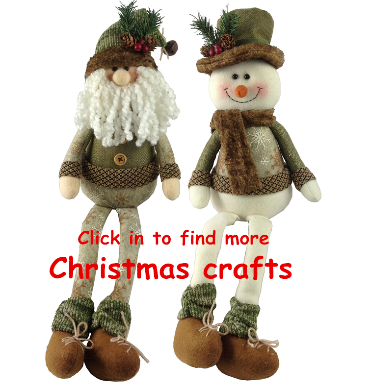 New designs funny gift and snowman dolls lucky party christmas craft