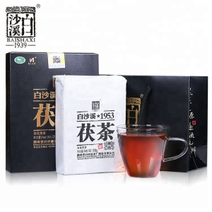 China Anhua baishaxi organic vital fuzhuan black tea
