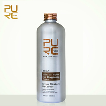 OEM private label professionele salon smoothing rebonding beste haar rechttrekken crème