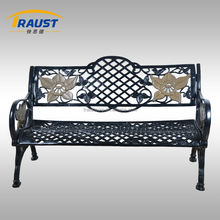 High quality Outdoor furniture patio cast iron garden bench