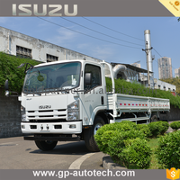 Factory Supply ISUZU chassis option cargo truck for sale brand food with double cab best quality