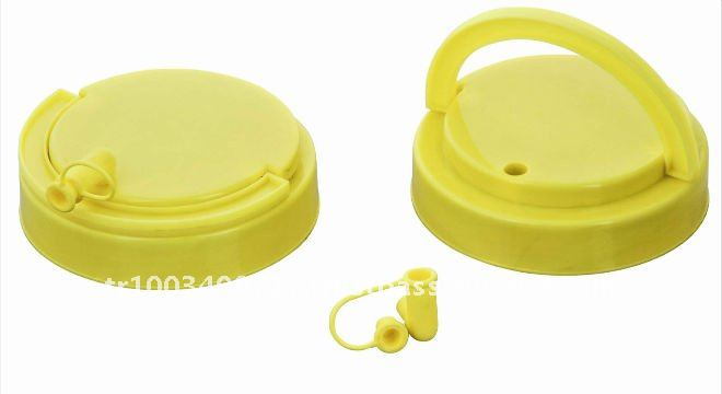 Yellow plastic bottle cap for Olive oil