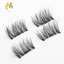 wholesale false eyelashes 3d faux mink lashes magnetic eyelashes magnetic lashes box