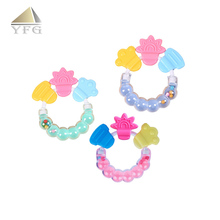 Wholesale Colorful Silicone Chew Toy,Baby Teether ,BPA Free Teether