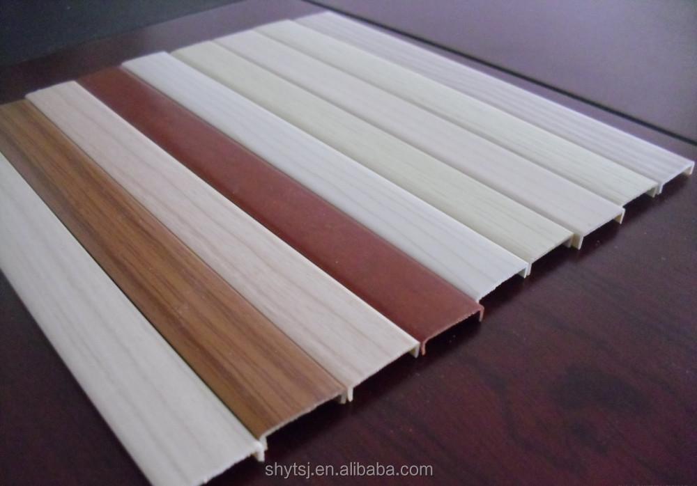 Pvc Profile For Furniture U Shape Edge Banding T Shape