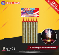12CM birthday candle sparkler fireworks for sale