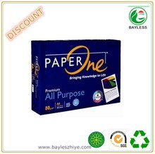 High whiteness copy paper a4 copier paper bundle made in china