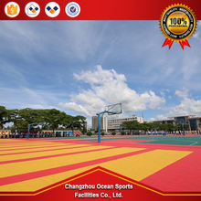 China IAAF Certified Stadium Rubber Athletic Mixed System Running Track Surface