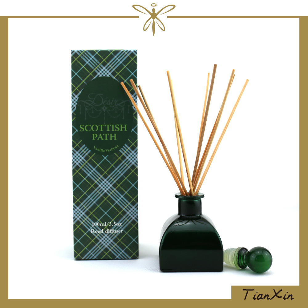 100ml Vanilla Verbena Fragrance Reed Diffuser in Glass Bottle