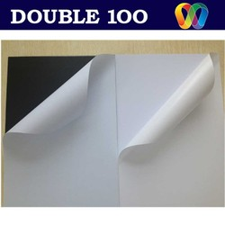 double100 factory self adhesive PVC media for photo album
