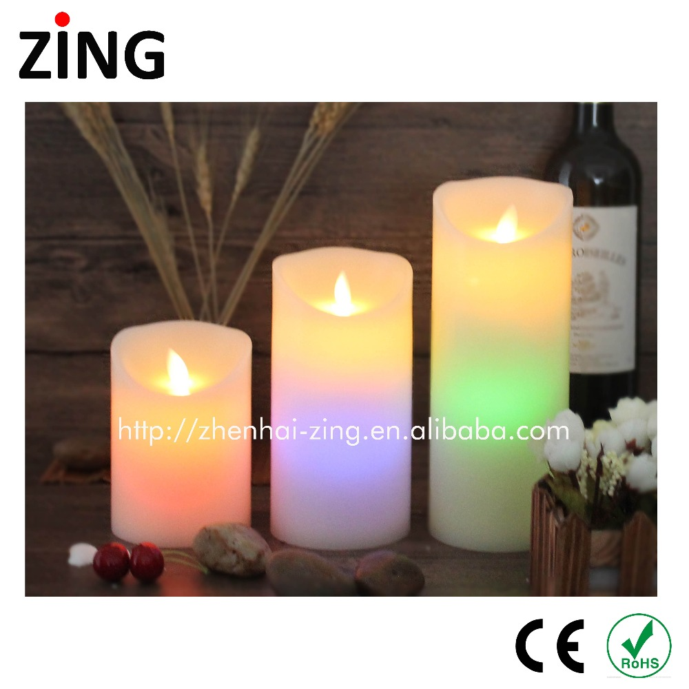 2017 New LED Color changing Tealight candles With Long-term Service
