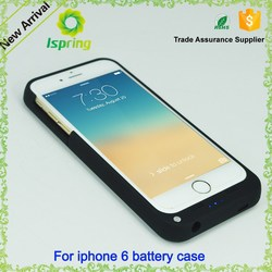 New 3800mAh Rechargeable External Battery Backup Charger Case Cover Pack Power Bank Fits for Apple iPhone 6s