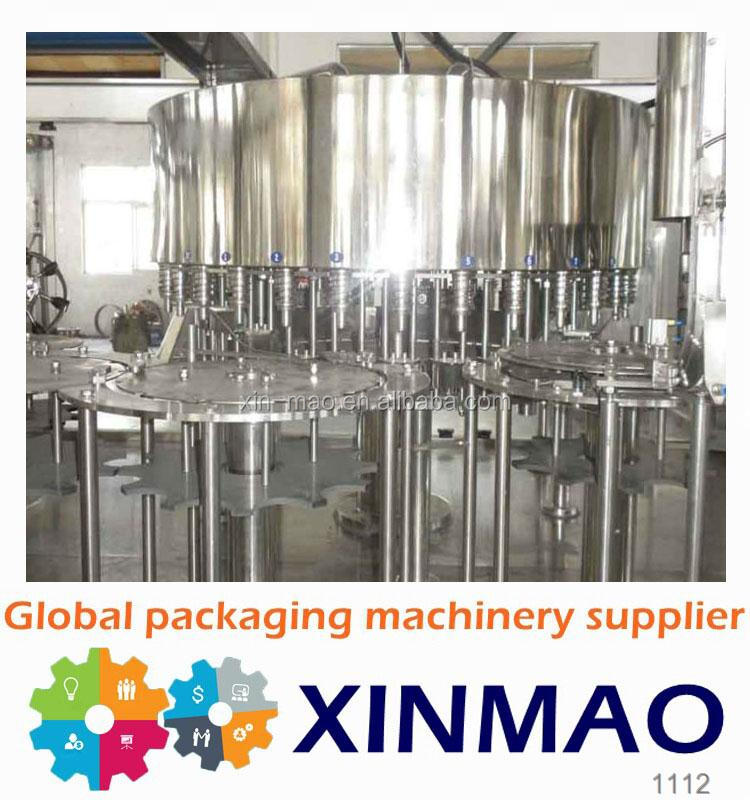 Factory price aerated drink filling machine /pure water filling line