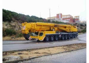Crane, all terrain 500 ton