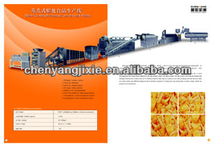 High quality Low price Nutrition Breakfast Cereals snack food production line