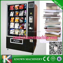 High quality 8 inch LCD display hair straightener vending machines