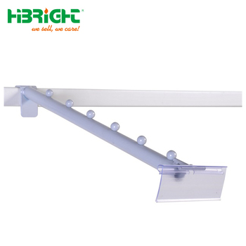 Metal powder coating display pegboard hook price tag