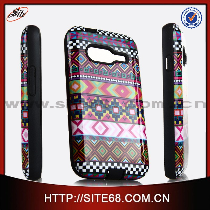 Wholesale China Cell Phone Cover for Samsung Galaxy Ace 4 G313h PC TPU Case