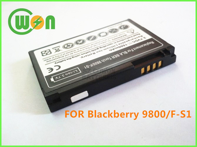 Replacement Battery for BlackBerry TORCH 9800 9810 F-S1 FS1 Mobile Phone Battery FS1 Cell Phone Battery