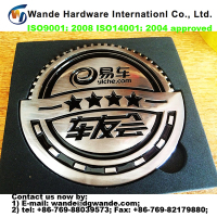 2016 new style custom design car badge, sticker for car, car logo with name