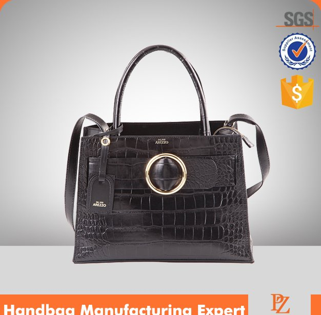 M5531 2016 new arrival trendy ladies plain Crocodile leather Handbags