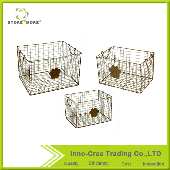 Hot Selling Multifunction Metal Wire Storage Basket