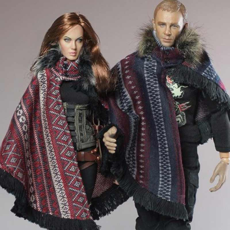 "1/6 Fashion Cloak Classic Blue/Black/Red/Green/Purple Z-<strong>02</strong>-<strong>A</strong>/B/<strong>C</strong>/D/E For 12"" Action Figure Dolls Accessory"