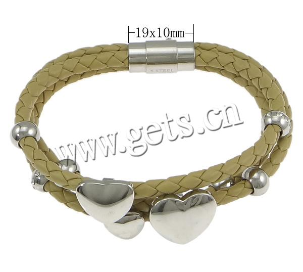 PU Other Shape 2 Best Energy Bracelet With Metal Band