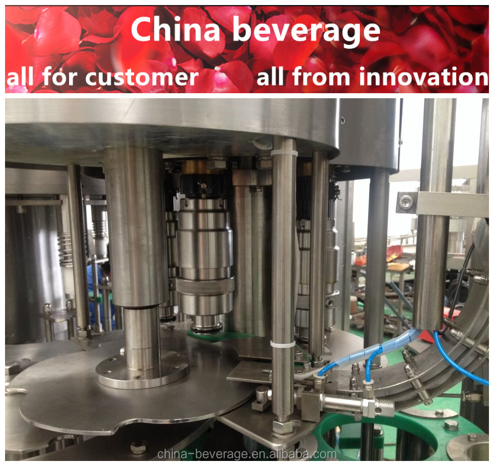 High quality complete automation automatic al cap capper factory