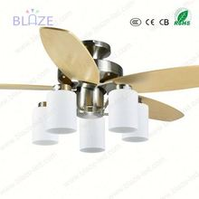 Invisible blade 42inch ceiling fan pendant light