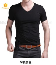hot new products for 2015 fashion wholesales v-neck t-shirts
