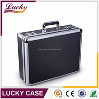 Aluminum hard cover laptop carrying case
