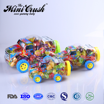 20pcs Mini Truck Car strawberry flavour jelly