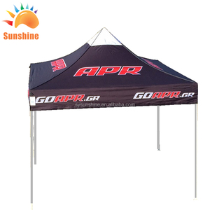 durable hexagon metal customized event gazebo beach tents large advertising pop up 3x3 canopy tent for events