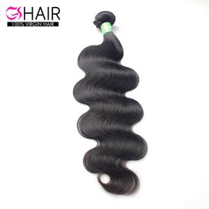 Wholesale High Quality Adorable Body Wave Virgin Brazilian Human Hair Extension for Black Women