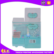 Small &cute clear product & gift & cosmetic plastic gift packaging boxes with printing
