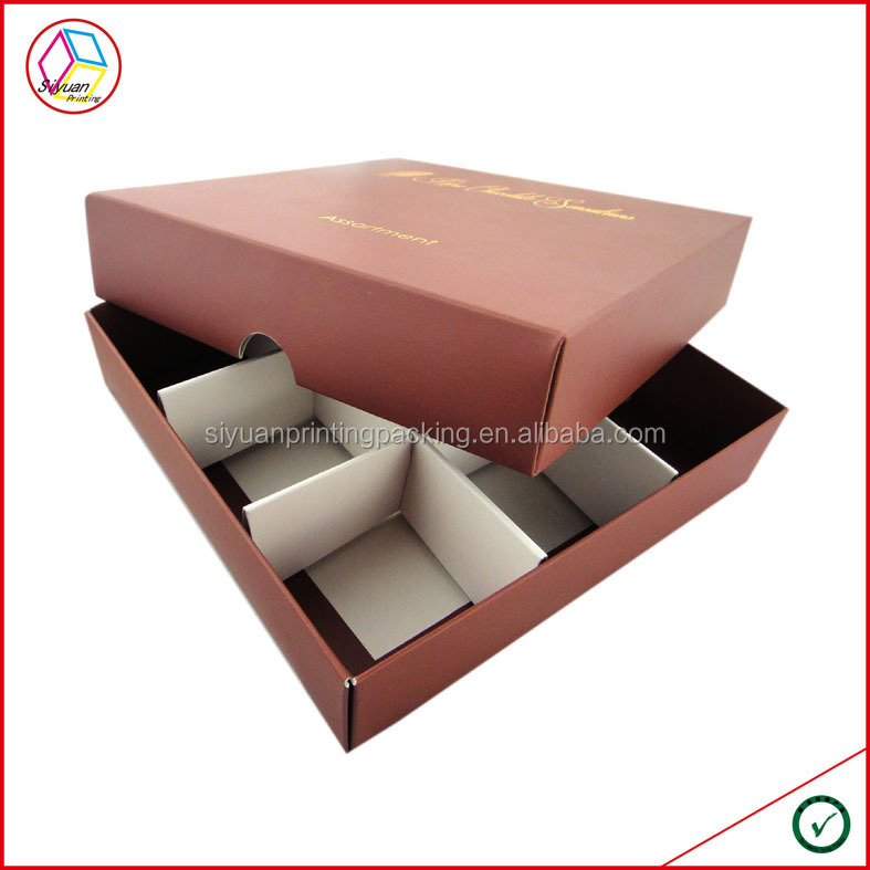 High quality customized Chocolate Packaging Box
